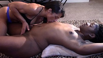 black girl fingering