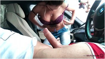 car ride home blowjob