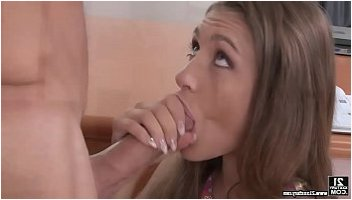 retro office blowjob
