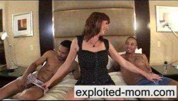 Explpoited mom porn
