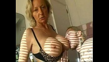 dutch granny blowjob