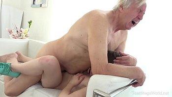 Teen creampie old man Substitute Teacher