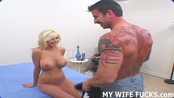 huge cuck for wife