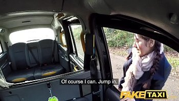 hairy pussy fake taxi